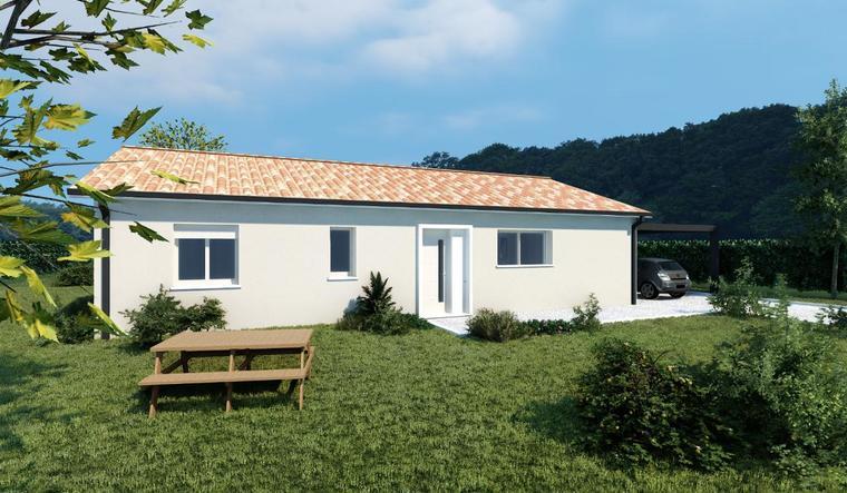 Projet de construction Layrac - constructeur de maisons Agen