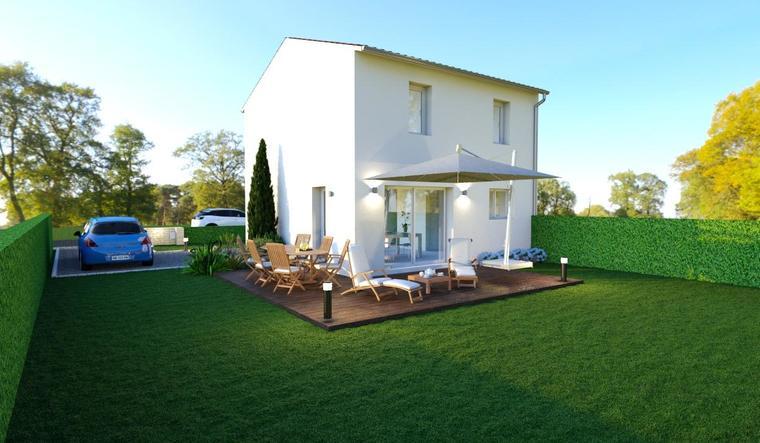LIBOURNE Centre - constructeur de maisons Bordeaux
