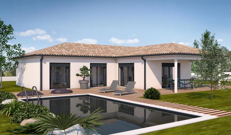 Maison contemporaine 3 chambres 110 m² - constructeur de maisons Agen