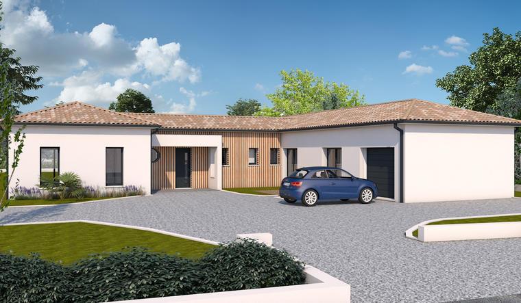 Maison neuve 3ch à Hautefage la Tour - constructeur de maisons Agen