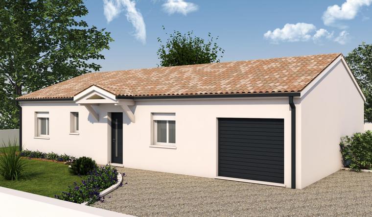 Maison neuve 4ch 100 m² - constructeur de maisons Agen