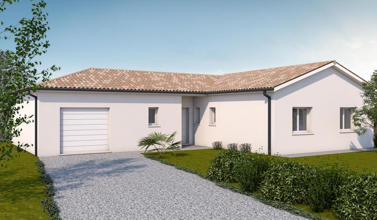 Villa contemporaine St Pierre de Clairac - constructeur de maisons Agen