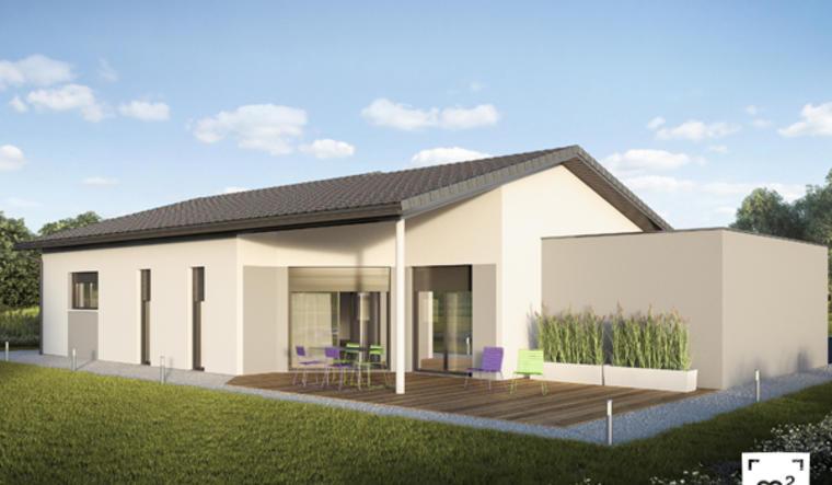 Pavillon neuf 3ch 90m² Layrac - constructeur de maisons Agen