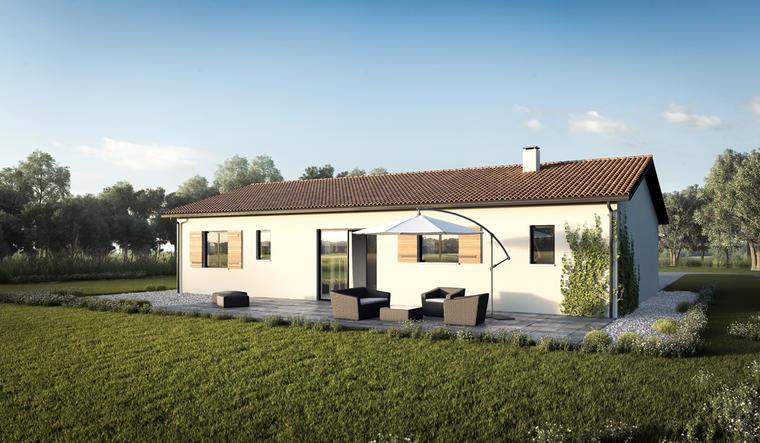 Ayguemortes les Graves Maison 3 Chambres - constructeur de maisons Bordeaux