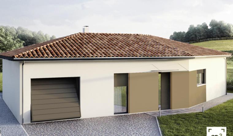 Maison T5 avec garage - constructeur de maisons Toulouse