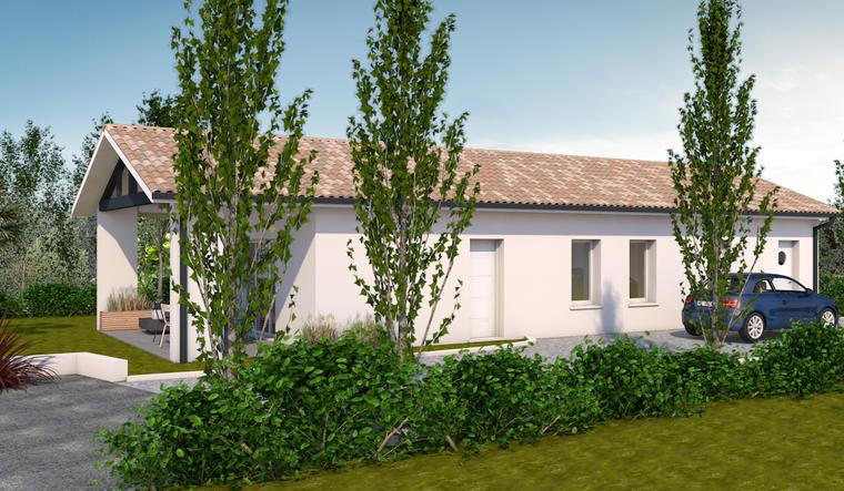 Maison neuve à Sainte-Bazeille - constructeur de maisons Agen