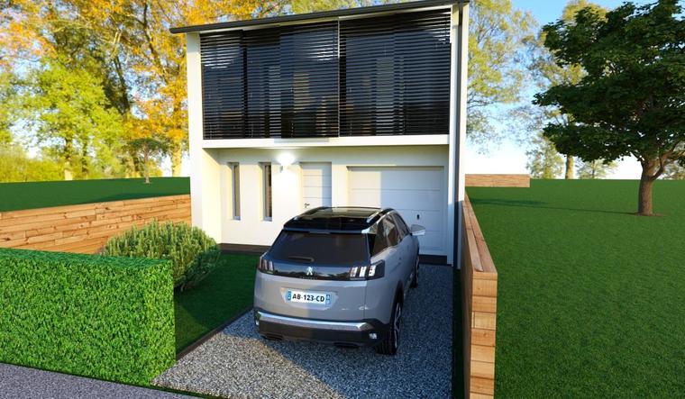 Exclusif ! maison 3 chambres avec garage Bègles Berthelot - constructeur de maisons Bordeaux