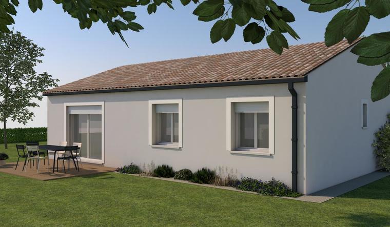 Bien immobilier LAVAZAN - constructeur de maisons Agen