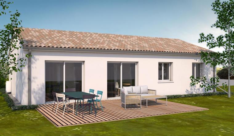 Maison T3bis 97 m² - constructeur de maisons Toulouse