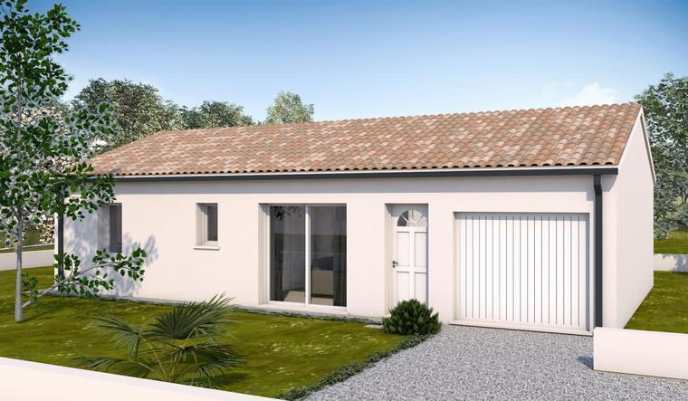 Maison 3 pièces 75 m² - constructeur de maisons Toulouse