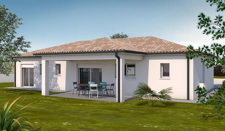 Maison 5 pièces 120 m² - constructeur de maisons Toulouse