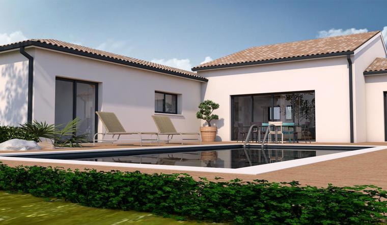 Longages maison neuve 5 pièces 153 m² - constructeur de maisons Toulouse