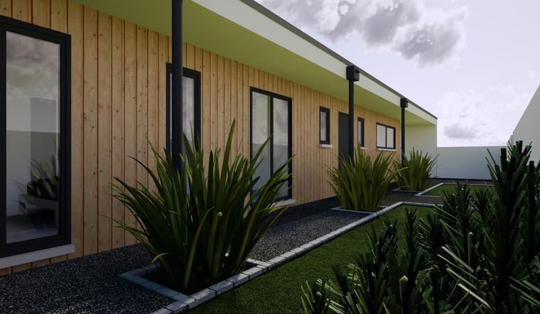 Maison neuve 120m² - Terrain 1500m² boisé - constructeur de maisons Bordeaux