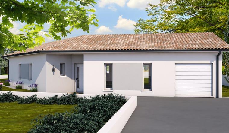 Maison neuve à Sainte Marthe - constructeur de maisons Agen