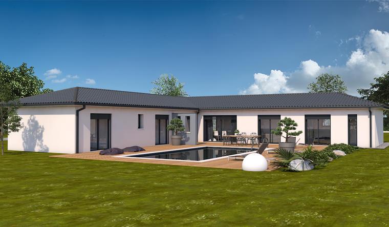 Villegouge maison neuve constructeur de maisons bordeaux for Constructeur de maison neuve