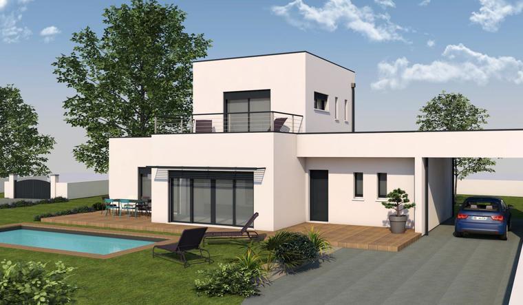 RARE POMPIGNAC - MAISON HAUT DE GAMME. - constructeur de maisons Bordeaux