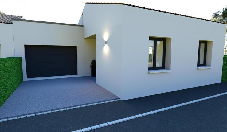 Idéal Primo accédant - Maison neuve 95m² - Terrain 800m2 - constructeur de maisons Bordeaux