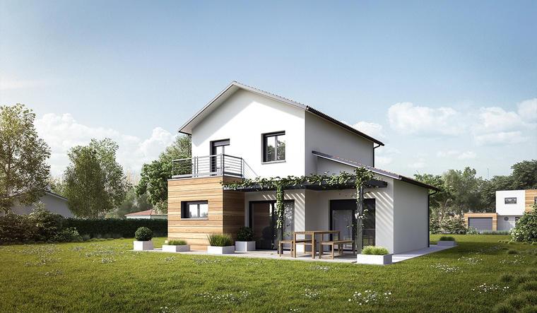 Maison T5 secteur recherché - constructeur de maisons Bordeaux