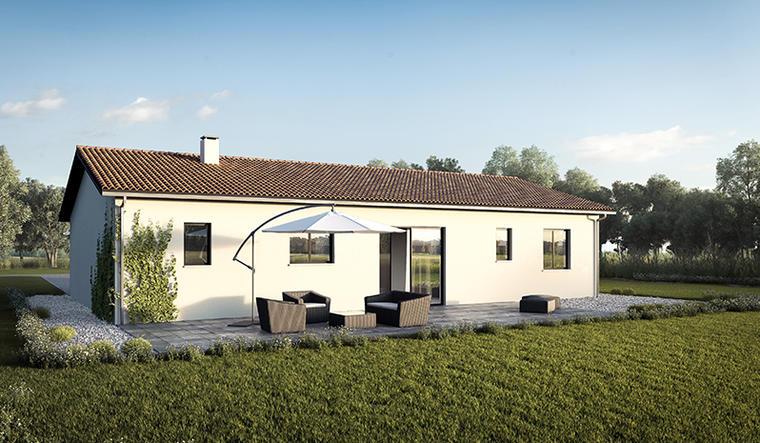 maison 3 chambres et garage à Cadillac en F. - constructeur de maisons Bordeaux