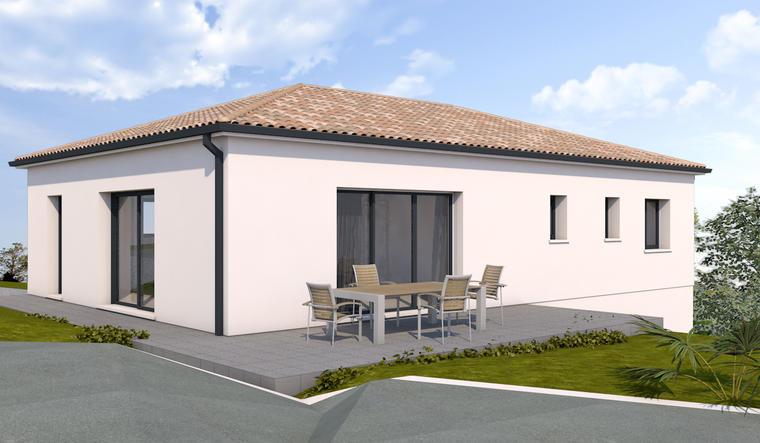 Maison T5 à deux pas du centre - constructeur de maisons Bordeaux
