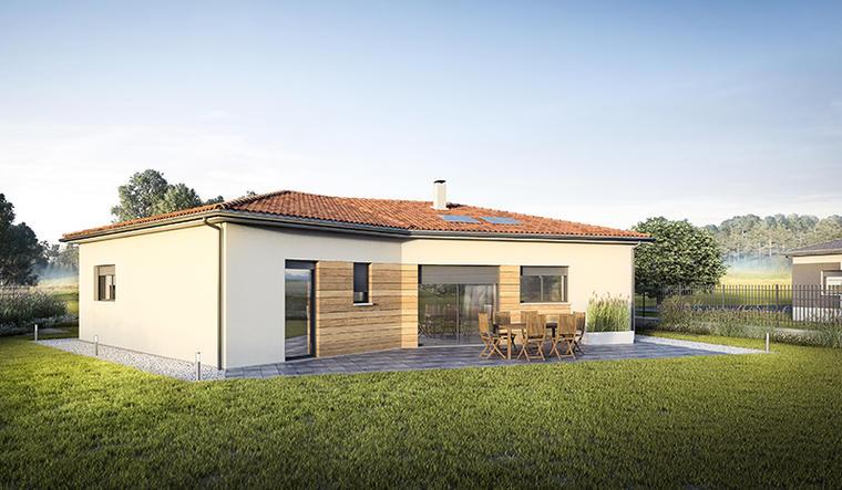 Maison 5 pièces Lombez - constructeur de maisons Toulouse