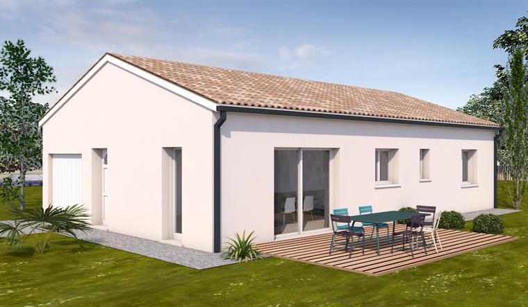 Maison 5 pièces la salvetat saint gilles - constructeur de maisons Toulouse