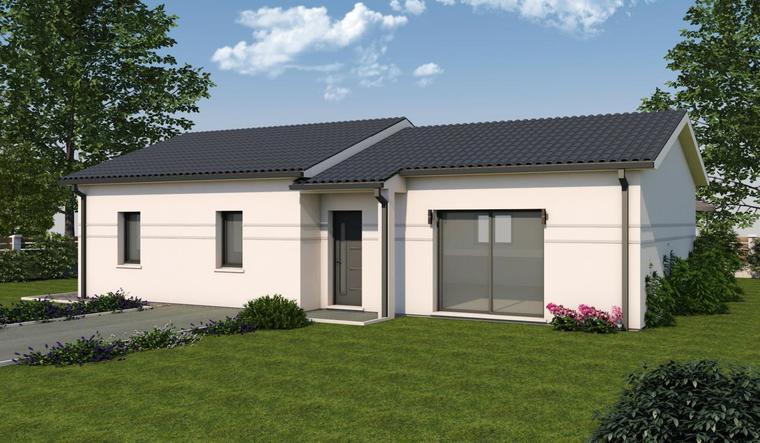 Maison neuve coteaux de Layrac - constructeur de maisons Agen