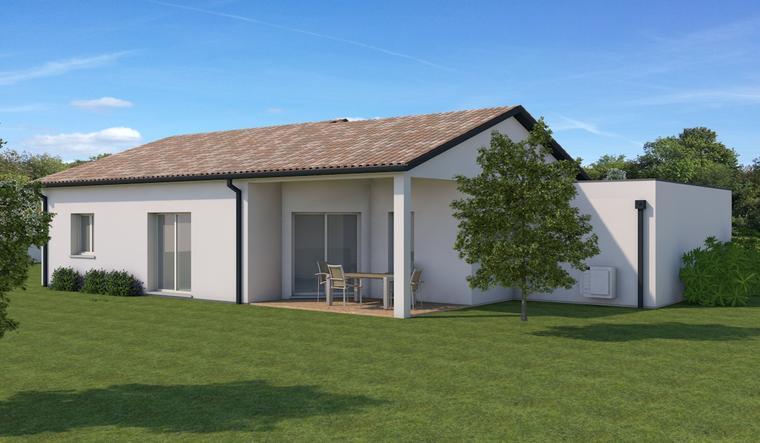 Maison T4 à deux pas du centre - constructeur de maisons Bordeaux