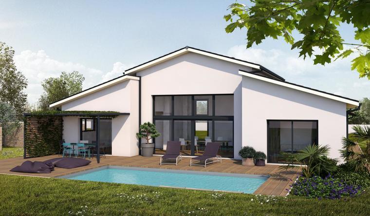 Projet de construction à Brugnens - constructeur de maisons Agen