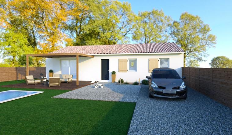 Derniere opportunité sur SAINT-LOUBES Proche YVRAC et MONTUSSAN - constructeur de maisons Bordeaux