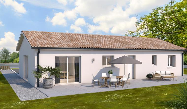 Pavillon neuf à Pont du Casse - constructeur de maisons Agen