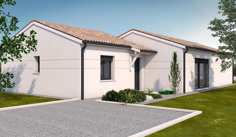 Maison neuve 3 chambres constructeur de maisons toulouse for Constructeur de maison neuve