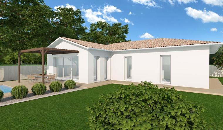 Maison 110m² Parentis-En-Born - constructeur de maisons Parentis