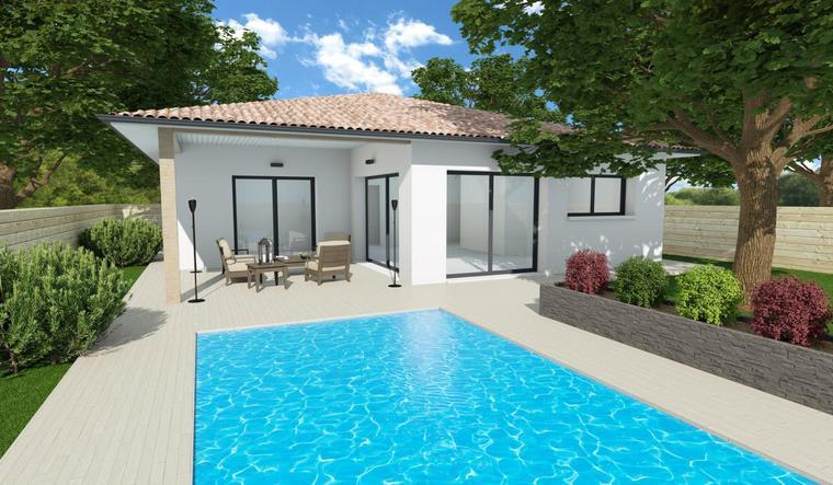 Maison 90m² - Pontenx-Les-Forges - constructeur de maisons Parentis