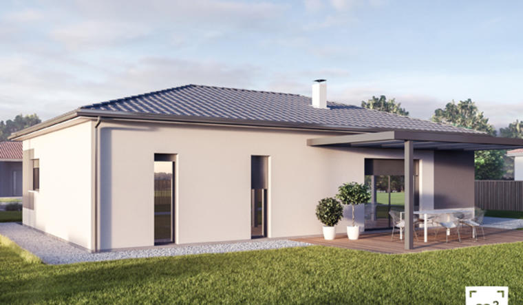 Maison Plain-pied idéal premier investissement Jeune couple SALLEBOEUF - constructeur de maisons Bordeaux
