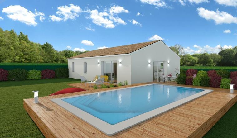 Maison 3 chambres à Cavignac - constructeur de maisons Bordeaux