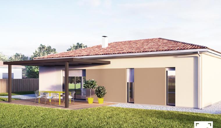 Maison T4 contemporaine - constructeur de maisons Bordeaux