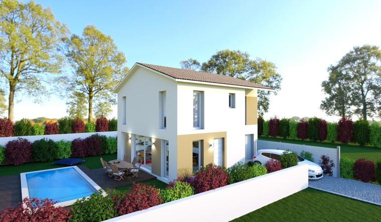 UNE MAISON LUMINEUSE ET FONCTIONNELLE SUR St JEAN D'ILLAC - constructeur de maisons Bordeaux