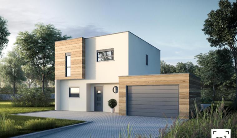 Maison contemporaine à La Réunion - constructeur de maisons Agen