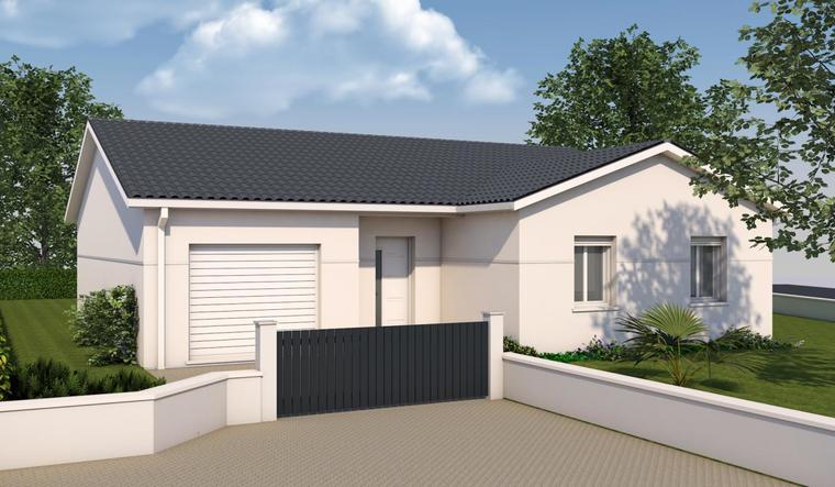 maison en l garage constructeur de maisons toulouse. Black Bedroom Furniture Sets. Home Design Ideas