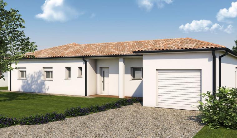 Maison neuve à Tonneins - constructeur de maisons Agen