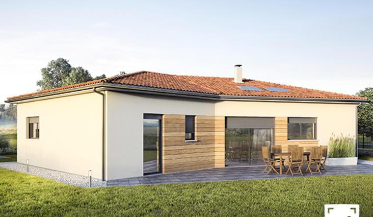 Maison neuve à Saint Hilaire de Lusignan - constructeur de maisons Agen