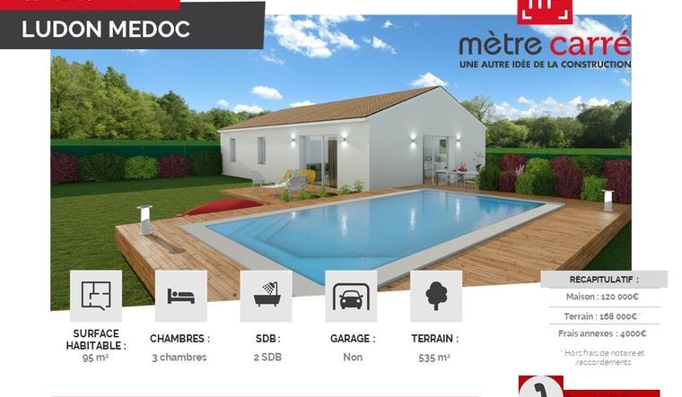 LUDON MEDOC - constructeur de maisons Bordeaux