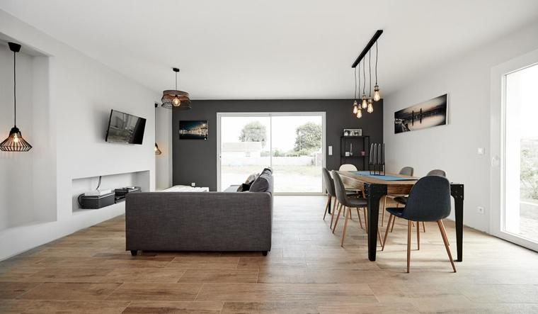 Maison T6 contemporaine - constructeur de maisons Bordeaux
