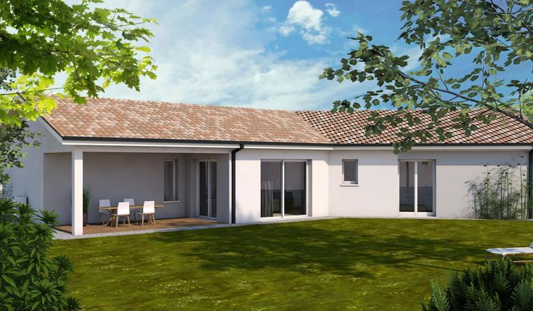 Maison neuve à Sainte Bazeille - constructeur de maisons Agen