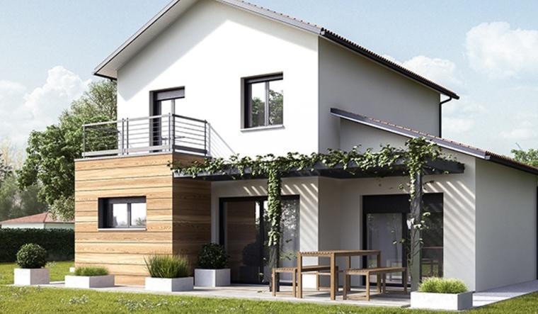 Maison Mios hors lotissement - constructeur de maisons Parentis