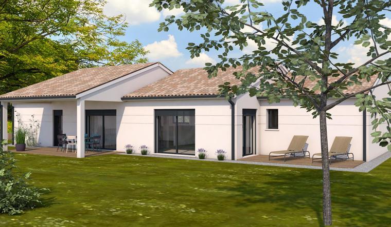 Maison à Montpouillan - constructeur de maisons Agen