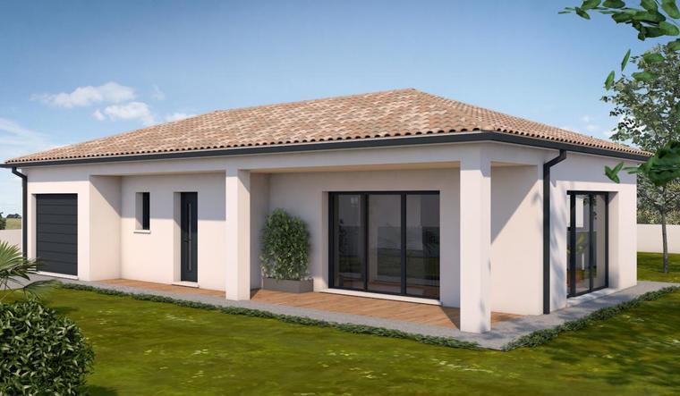 Maison à Aiguillon - constructeur de maisons Agen