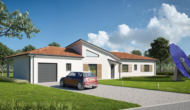 Maison à Casteljaloux - constructeur de maisons Agen