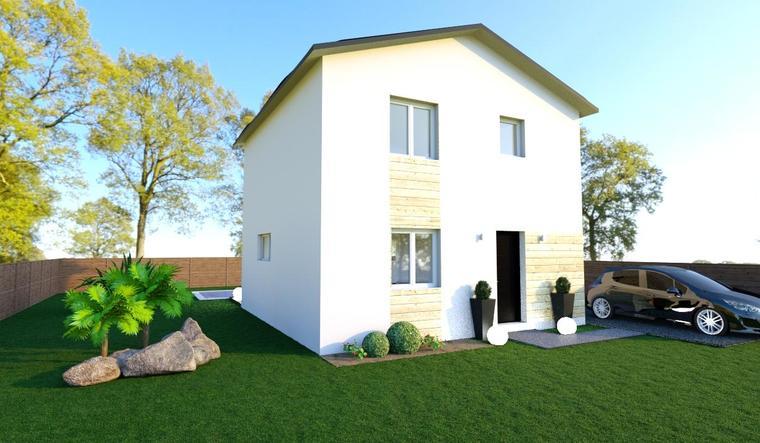 MAISON DE VILLE A BLANQUEFORT - constructeur de maisons Bordeaux